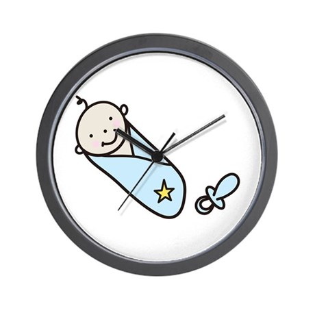 Baby Boy Wall Clock By Concord6