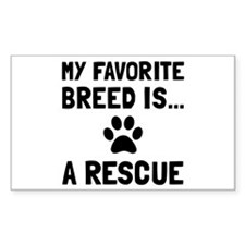 Favorite Breed Rescue Decal