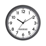Hawaii newsroom Wall Clocks