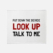 Look Up Throw Blanket