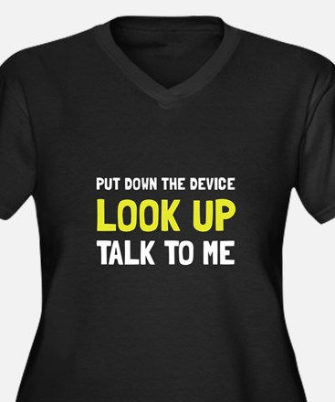 Look Up Plus Size T-Shirt