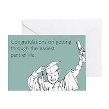Easiest Part Greeting Card
