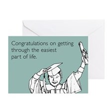 Easiest Part Greeting Cards (Pk of 10)