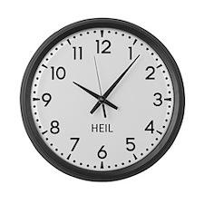 Heil Newsroom Large Wall Clock