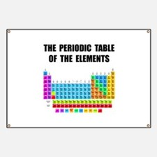 Periodic Table Elements Banner