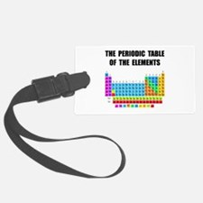 Periodic Table Elements Luggage Tag