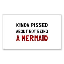 Pissed Not Mermaid Decal
