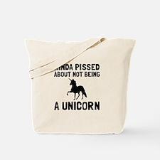 Pissed Not Unicorn Tote Bag