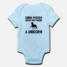 Pissed Not Unicorn Body Suit
