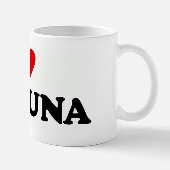 I Love BIG TUNA Mug