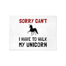 Walk Unicorn 5'x7'Area Rug