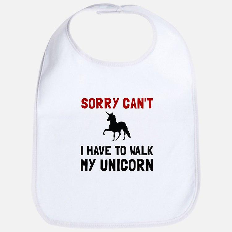 Walk Unicorn Bib