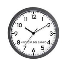 Hinojosa Del Campo Newsroom Wall Clock