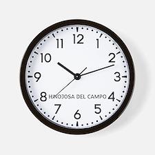 Hinojosa Del Campo Newsroom Wall Clock