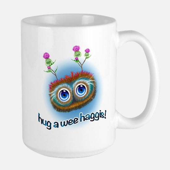Hoots Toots Haggis 'Hugs' Large Mug