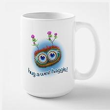 Hoots Toots Haggis 'Hugs' Mug