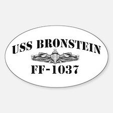 USS BRONSTEIN Decal