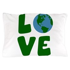 Love the Mother Earth Planet Pillow Case