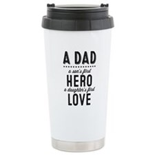 A Dad Stainless Steel Travel Mug