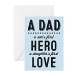 A Dad Greeting Cards (pk Of 20)