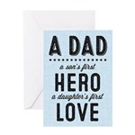A Dad Card Greeting Cards