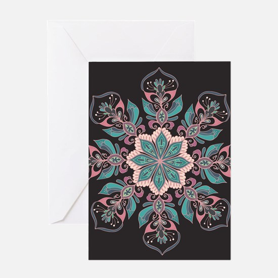 Decorative Star Greeting Cards