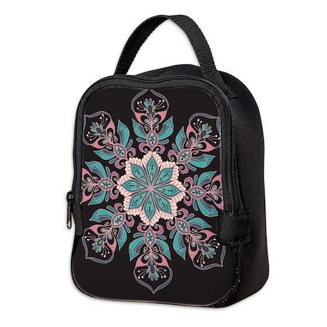 Decorative Star Neoprene Lunch Bag
