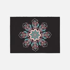 Decorative Star 5'x7'Area Rug