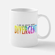 Divergent Colorful Mugs