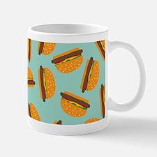 Cute Burger Pattern Mugs