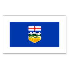 Alberta Rectangle Decal
