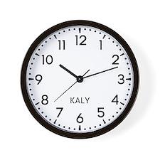 Kaly Newsroom Wall Clock