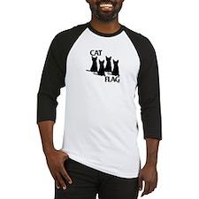 Cat Flag Baseball Jersey