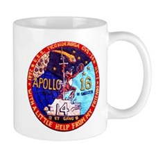 USS Ticonderoga & Apollo 16 Mug