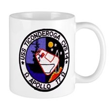 USS Ticonderoga & Apollo 17 Mug