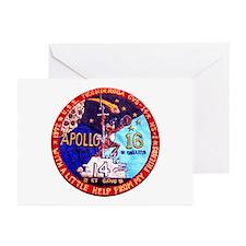 USS Ticonderoga & Apollo Greeting Cards (Pk of 10)
