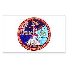 USS Ticonderoga & Apollo 16 Decal