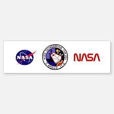 USS Ticonderoga & Apollo 17 Bumper Bumper Sticker