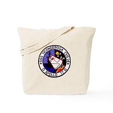USS Ticonderoga & Apollo 17 Tote Bag