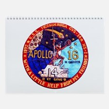 USS Ticonderoga & Apollo 16 Wall Calendar