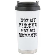 Not My Circus Thermos Mug