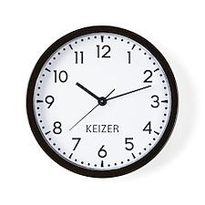 Keizer Newsroom Wall Clock