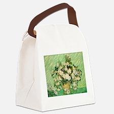 van gogh roses Canvas Lunch Bag