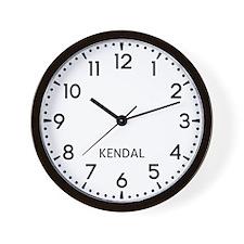 Kendal Newsroom Wall Clock
