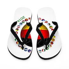 Germany soccer Flip Flops