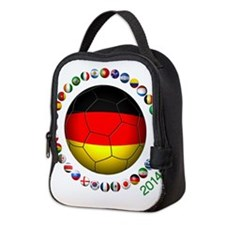 Germany soccer Neoprene Lunch Bag