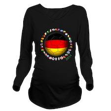 Germany soccer Long Sleeve Maternity T-Shirt