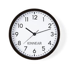 Kinnear Newsroom Wall Clock