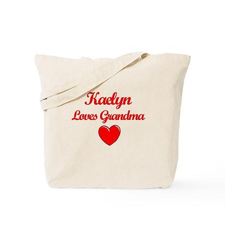 Kaelyn Loves Grandma Tote Bag