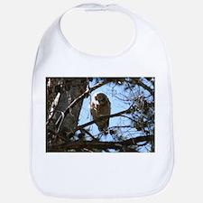 Great Horned Owlet Bib